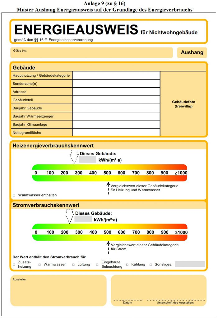 Energieausweis Nichtwohngebäude_Verbrauch